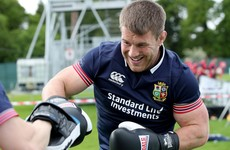 Delayed by a calf strain, Tullow's finest ready to hit Lions tour like a tank