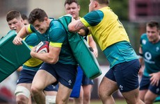 Jacob Stockdale set for Ireland debut as Schmidt names team for opening Test of summer tour