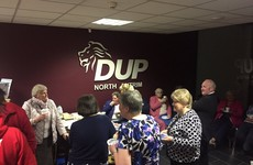 Nobody can cope with these photos of the DUP's ridiculously tame 'election after party'