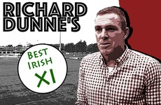 How much of Richard Dunne's all-time Irish XI do you agree with?