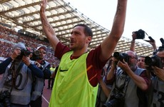 'Totti intended to miss penalty' - Roma icon's exit plans revealed