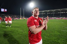 Brilliant night for Furlong and the rest of the Irish Lions in Christchurch