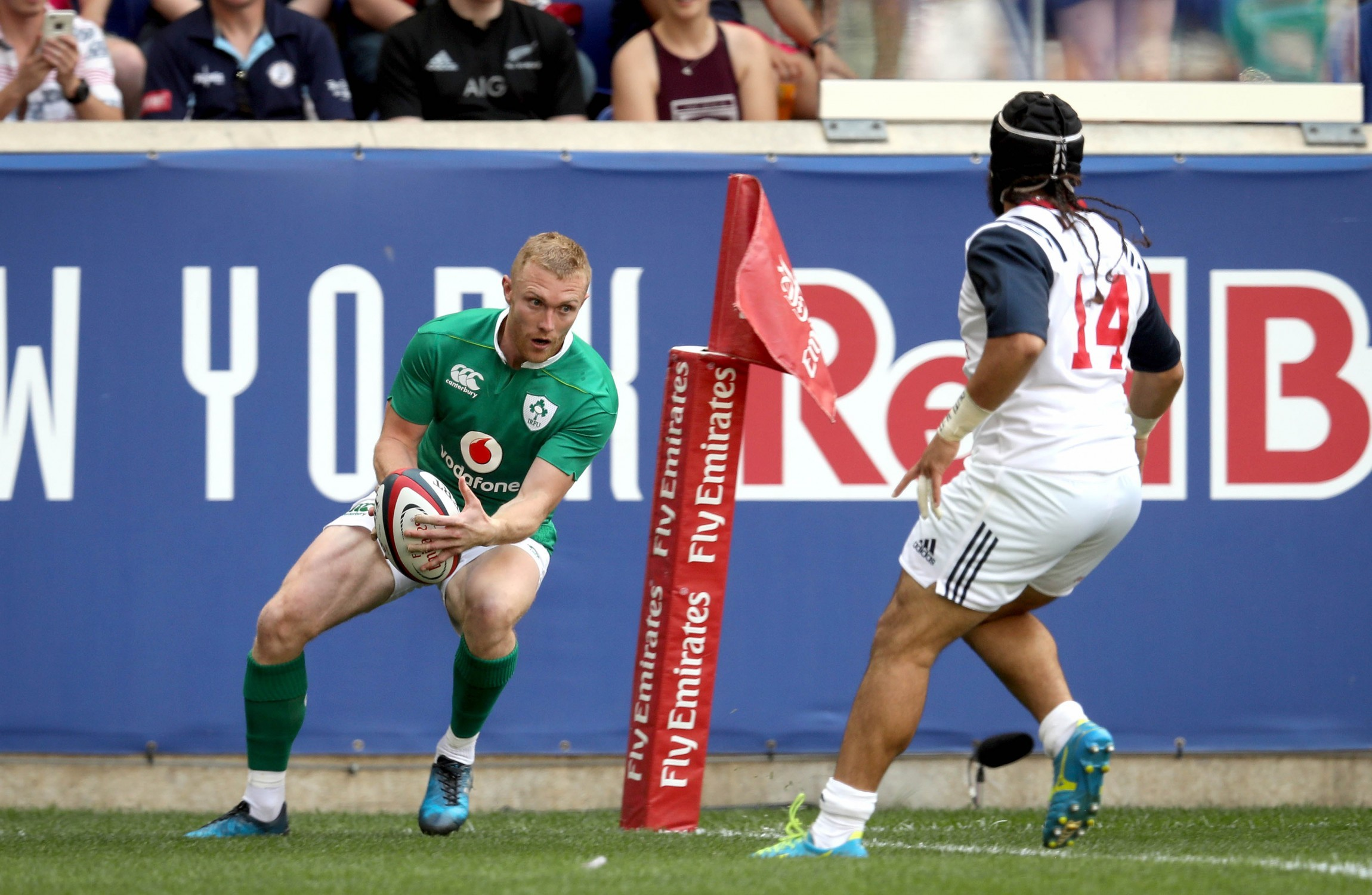 Ireland dismiss US Eagles 55-19 in New Jersey