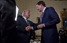 Trump says Comey is 'cowardly' over conversation leaks