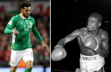Ireland defender leads tributes to British boxer uncle who passed away last night