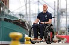 'The way I faced up to my blindness and paralysis was just replicating what I'd learned through sport'