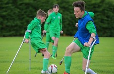 We say 'leg off, game on': Six children heading to Poland to represent Ireland in amputee soccer