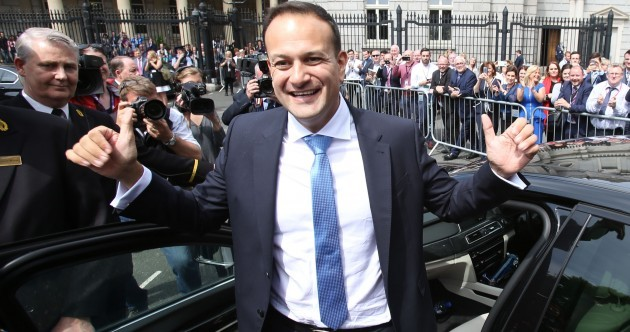 Day 1: Leo Varadkar says he's going to be the man to unite the country - but other TDs aren't so sure