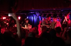 Arcade Fire turned up to Whelan's in Dublin last night and banged out a tune on stage
