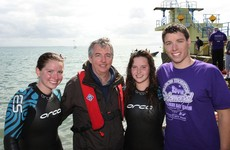 'The swim has been a great way to help us cope with our grief'
