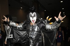 Gene Simmons is trying to to trademark the 'devil hands' gesture... and he doesn't even know how to do it