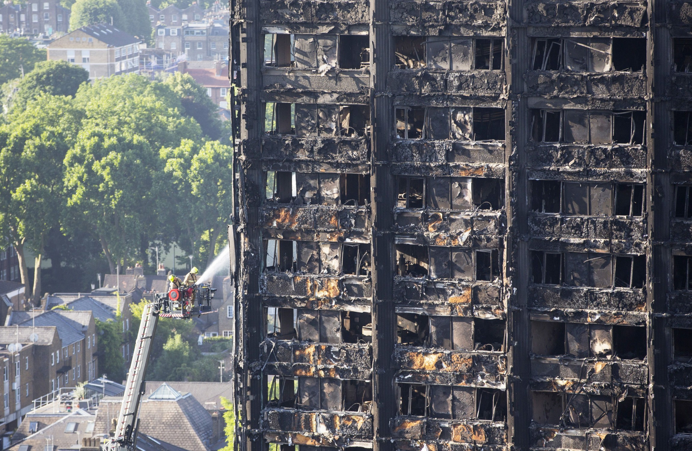 58 people in London apartment are missing and presumed dead in fire