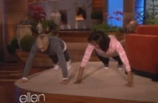 WATCH: How many press-ups can Michelle Obama do?