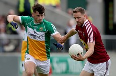Midfielder Eoin Carroll misses out as Offaly make one change for Westmeath replay