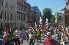 'Social cleansing is happening in Dublin. We have to fight': Hundreds turn out for homeless demo