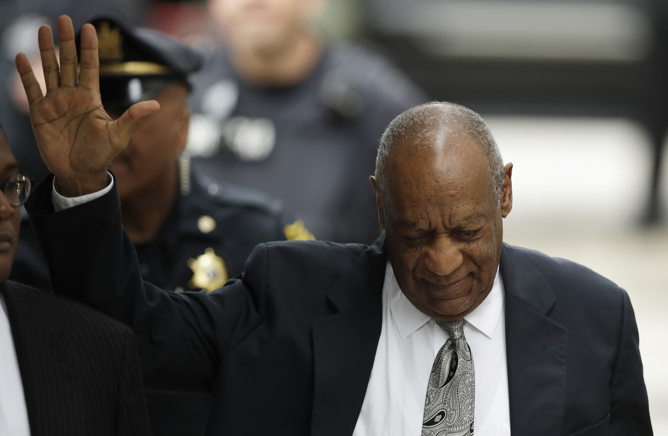 Statement from Cosby's wife assailing judge, prosecutors