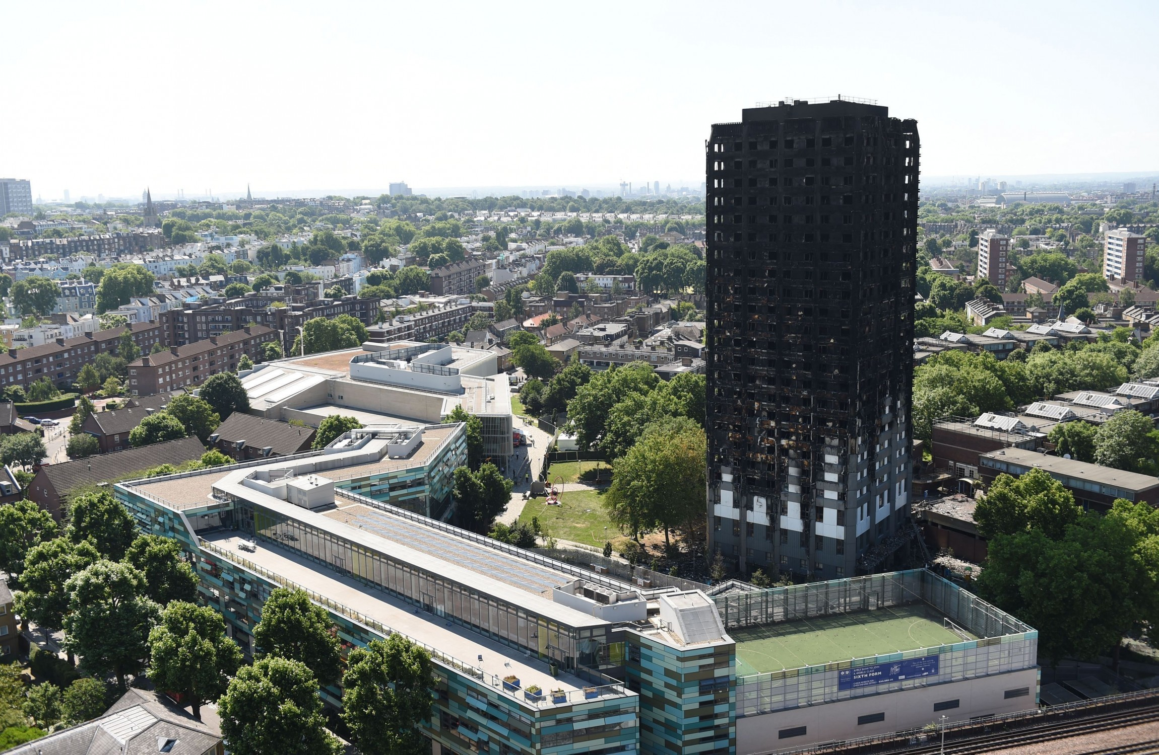 London tower fire: 79 now feared dead