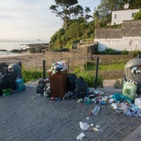 Irish beaches left covered in rubbish after thousands soaked up the sun