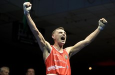 Ireland's Sean McComb secures stunning upset over world number one at Europeans