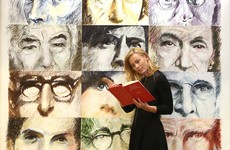 Painting of eyes of Irish writers and poets donated to National Library of Ireland