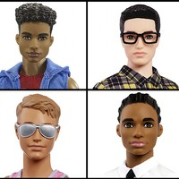 Barbie's boyfriend Ken is now multiracial, has several body types and may even have a man bun