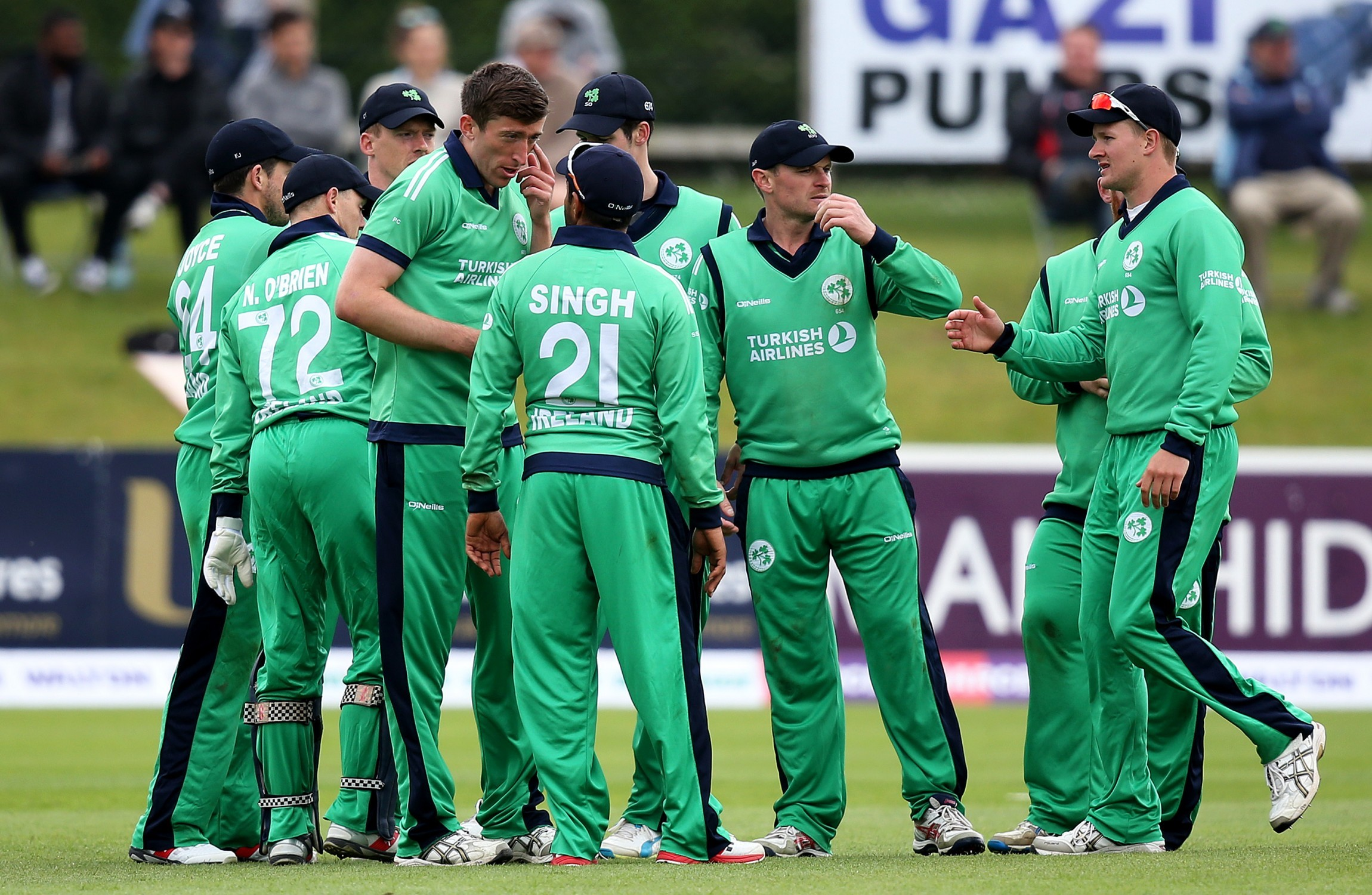 Ireland are granted Test match status
