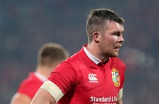 Peter O'Mahony named Lions captain for the first Test