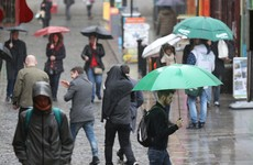 Warm spell comes to an abrupt end as rain and lower temperatures forecast for weekend