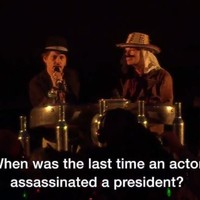 Johnny Depp made a weird gag about assassinating Donald Trump at Glastonbury... it's The Dredge