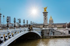 At least four injured as tourist bus hits Paris bridge