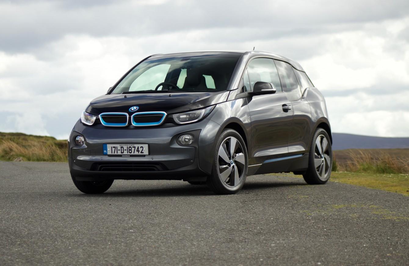 update car bmw drive electric winter vehicle test