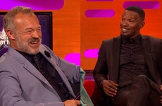 Jamie Foxx told a great story about living with an unknown Ed Sheeran on The Graham Norton Show