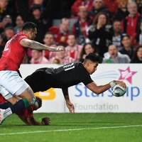 Brilliant Ioane on the double as All Blacks move into series lead over Lions