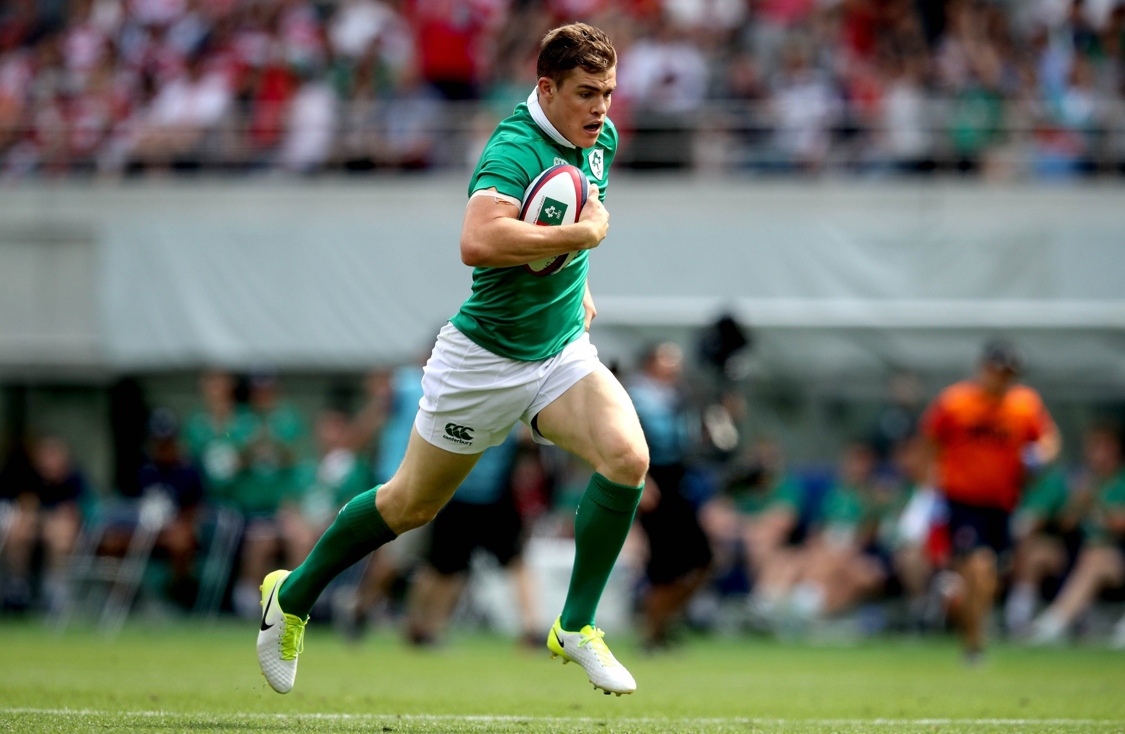 Ireland finish summer tour with second win over Japan