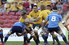 Wallabies' late tries enough as they edge shaky win over Italy