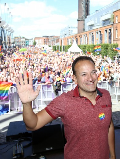 'I don't think my election as Taoiseach actually made history. It just reflected it'
