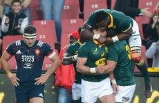 Rampant Springboks outscore France by four tries to complete whitewash
