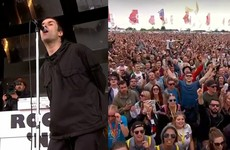 Liam Gallagher produced a spine-tingling moment with Don't Look Back In Anger at Glastonbury last night