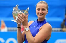 Six months after life-threatening stabbing in her home, Petra Kvitova is back winning titles