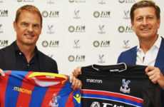 Frank de Boer appointed Crystal Palace boss