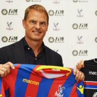 Frank de Boer appointed Crystal Palace boss