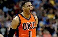 No surprise as Westbrook named NBA MVP after historic season