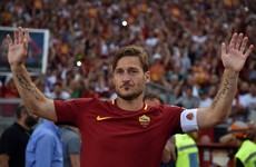 Roma legend Totti offered opportunity to extend glittering career in Japan