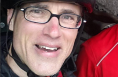 This man is cycling around the Irish coast to try to stop a hard border in the North