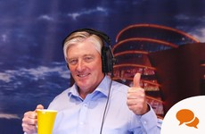 'A radio interview is just like doing a business pitch - except in a soundproof box'