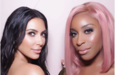 Kim Kardashian was accused of throwing shade at a beauty blogger who gave her a bad review