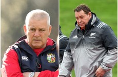 Hansen takes fire at NZ media as he calls for end to Gatland 'ridicule'