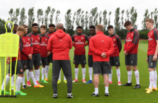 Irish striker among Arsenal's first year scholar intake for next season