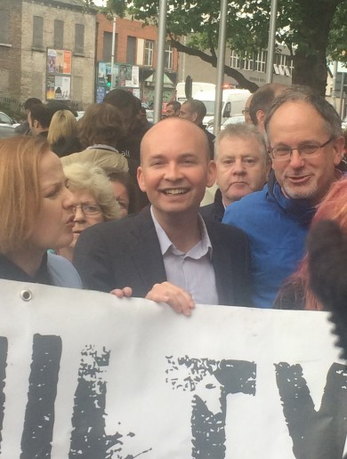 'I'm choking back tears': Relief and vindication after Jobstown not guilty verdict