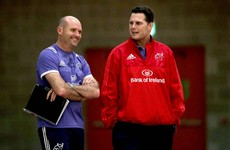Munster confirm that Rassie and Nienaber will leave the province in December